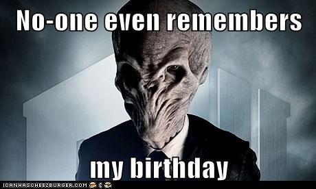 birthday doctor who downsides forget remember Sad the silence - 6264029440