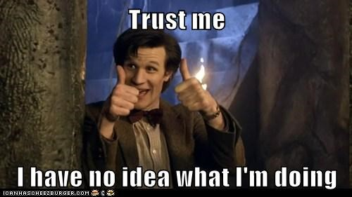 best of the week,doctor who,i-have-no-idea-what-im-d,i have no idea what im doing,Matt Smith,the doctor,thumbs up,trust me,trustworthy