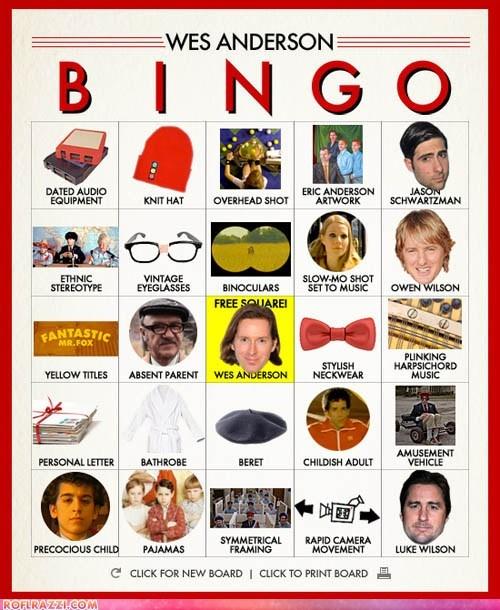 bingo celeb director funny Wes Anderson - 6264103168