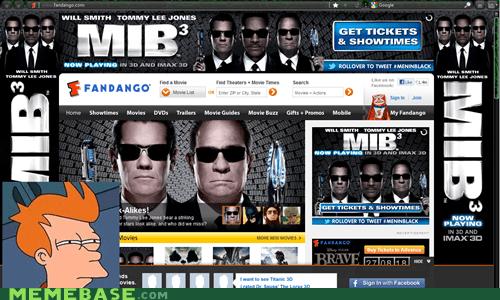 advertising fandango fry men in black movies - 6264129536