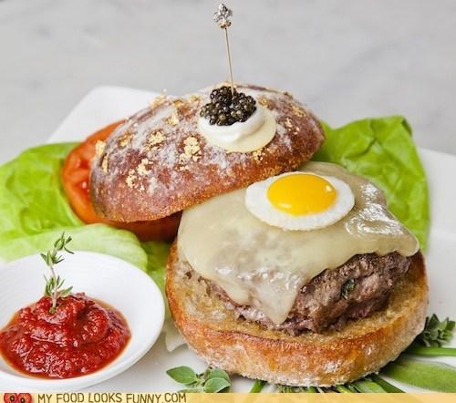 300 burger caviar diamonds expensive ridiculous - 6264173056