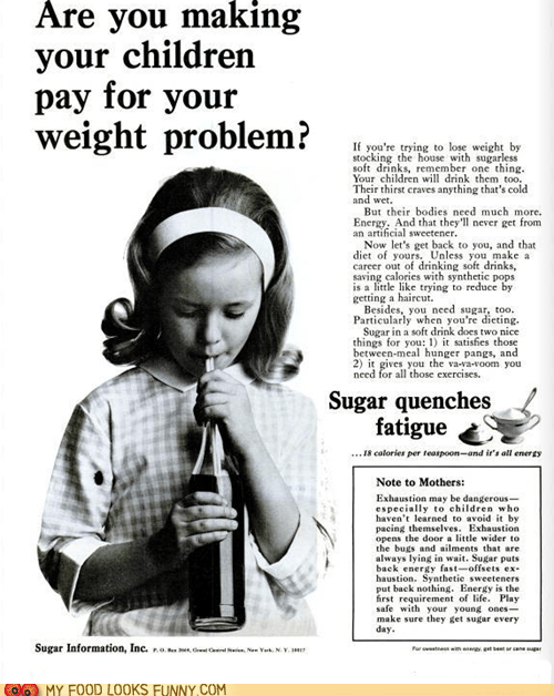 Ad energy old science sugar vintage wrong - 6264179200