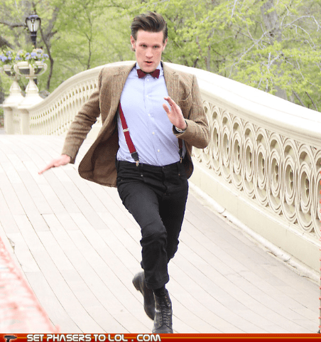 2012 London Olympics,best of the week,doctor who,Matt Smith,running,the doctor,torch