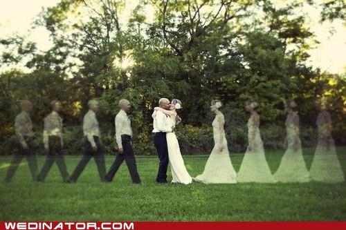 bride funny wedding photos groom KISS - 6264291072