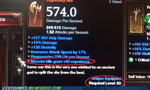 diablo diablo III itemization legendaries sarcasm - 6264322560