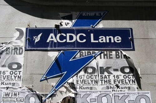 acdc australia metal Music street name street sign - 6264430592