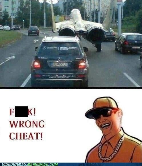 cheats,Grand Theft Auto,IRL,plane,street,wtf