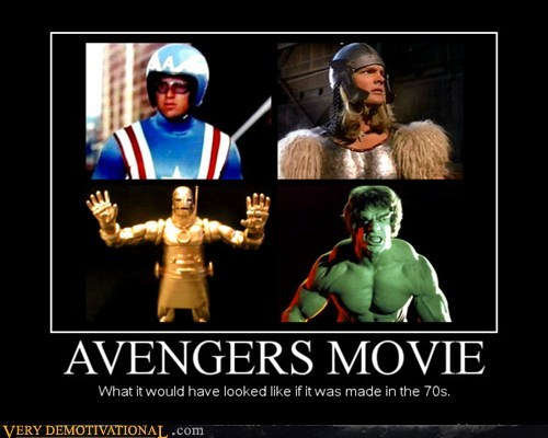 Avengers Movie - 1970s Version