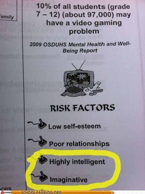kids,gaming,funny,intelligent,g rated,School of FAIL