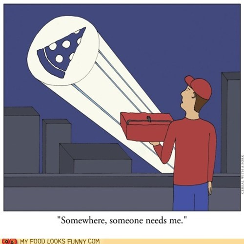comic deliver drawing pizza signal spotlight - 6264634112