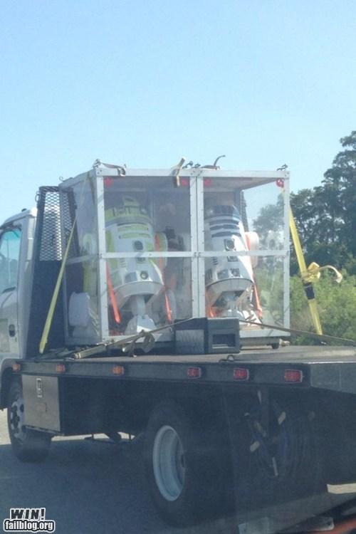 heavy load load nerdgasm r2-d2 star wars truck - 6264871936