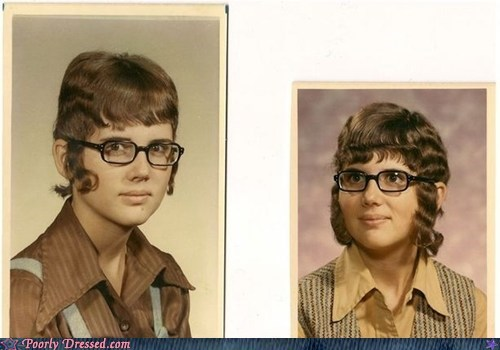 retro school photo sideburns vintage yearbook - 6264877312