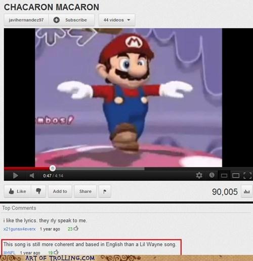 chacarron macarron lil wayne Music youtube - 6264935168