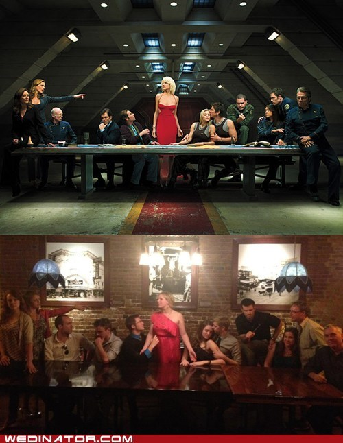 Battlestar Galactica funny wedding photos Hall of Fame