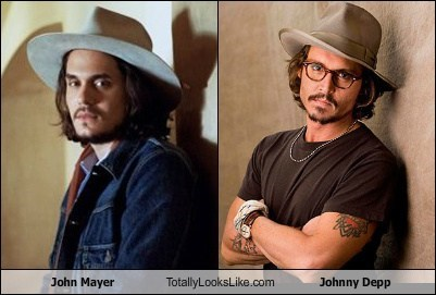 actor,celeb,funny,john mayer,Johnny Depp,Music,TLL