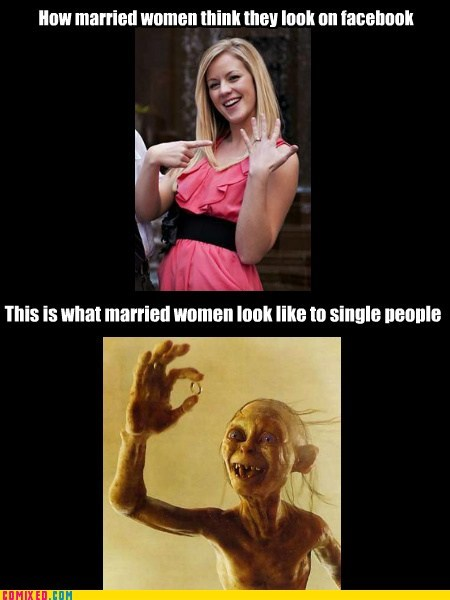 best of week engagement facebook gollum Lord of the Rings married Memes the internets