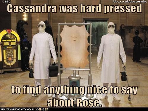 cassandra doctor who flat nice puns rose the last human - 6265473792