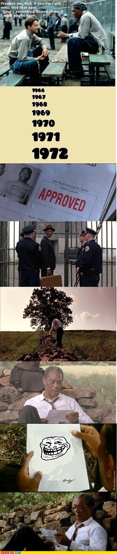 From the Movies Movie shawshank redemption troll - 6265932544