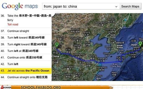 airfare,China,class is in session,geography 309,Japan,Maps