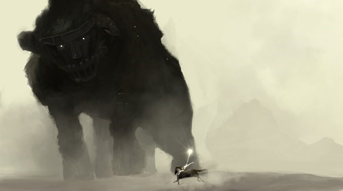 Fan Art shadow of the colossus video games - 6266041344