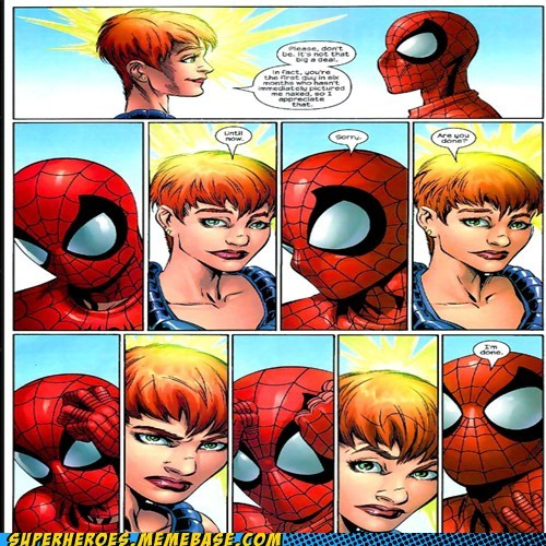 sexy times Spider-Man Straight off the Straight off the Page telepath - 6267365888