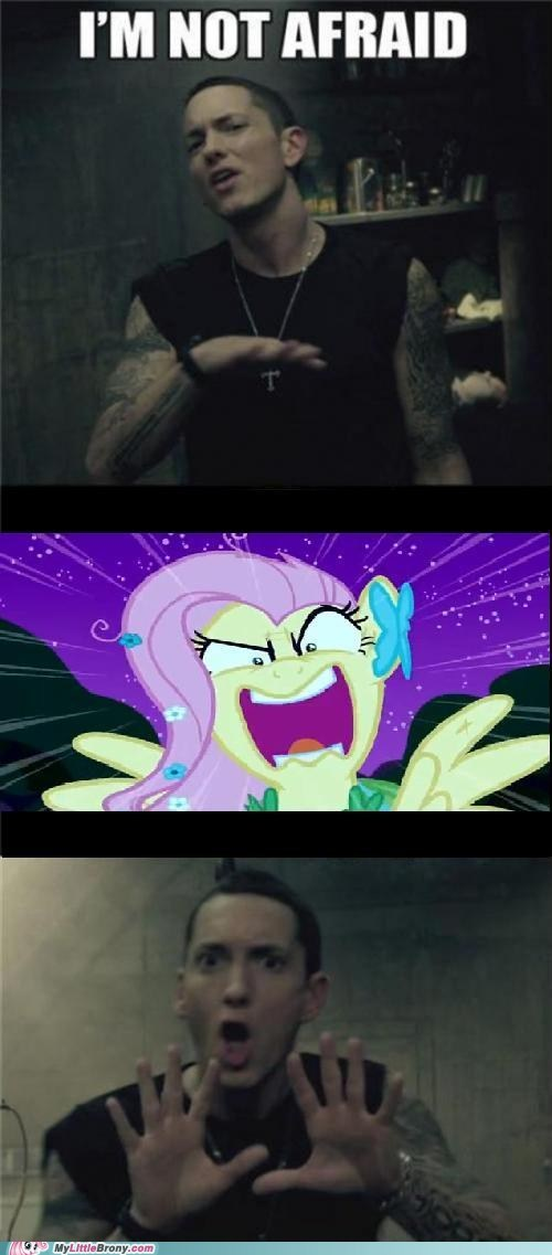 comics eminem fluttershy im-not-afraid youre-going-to-love-me - 6268602880