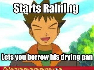 anime brock drying pan frying pan good guy meme meme Memes - 6270009344