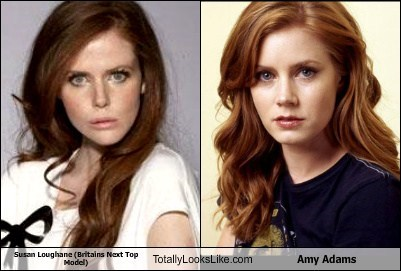 Susan Loughane (Britains Next Top Model) Totally Looks Like Amy Adams