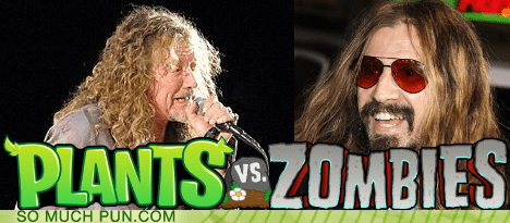 double meaning game literalism plants vs zombies popcap Rob Zombie robert plant surname - 6270381056
