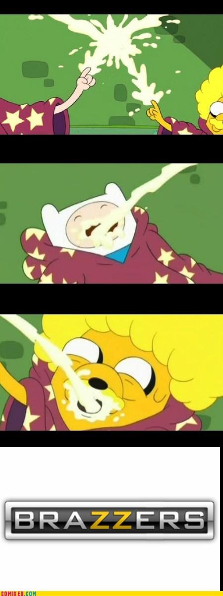 adventure time cartoons gross Ruined Childhood TV - 6270852352
