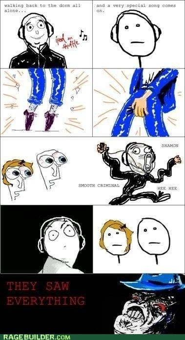 dancing michael jackson poker face Rage Comics raisin rage - 6271234816