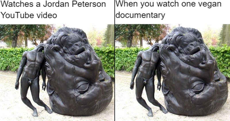 big head little body trending meme jordan peterson people who think they know everything egmont garden pompous people know it all asshole thomas lerooy pompous annoying people hangover vegans stupid people infinite jest - 6271749