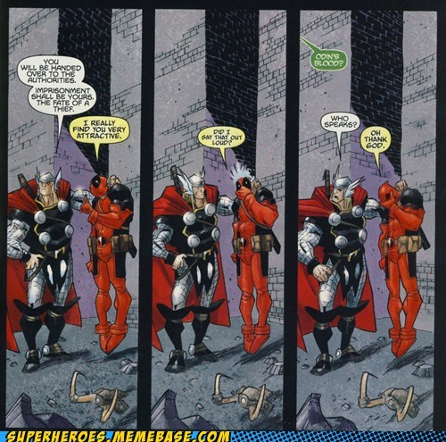 deadpool sexy times Straight off the Straight off the Page Thor - 6271905024