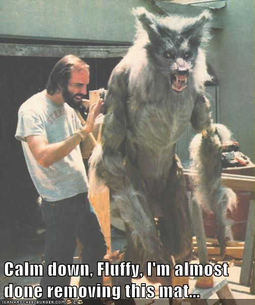 funny monster Movie the howling werewolf