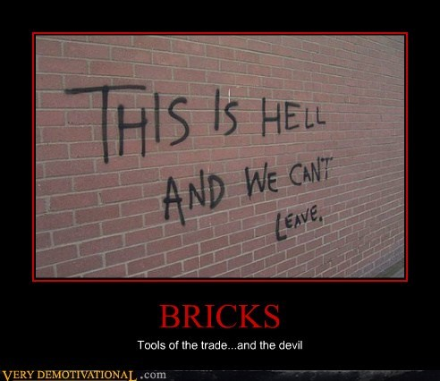 bricks,devil,hell,hilarious,school