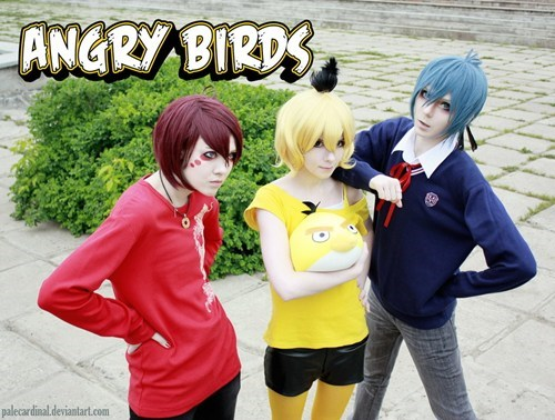angry birds casual games cosplay phone - 6272395520