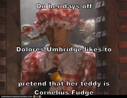 arnold rimmer chris barrie cornelius fudge day off dolores umbridge gross pretend red dwarf wizard - 6272432128