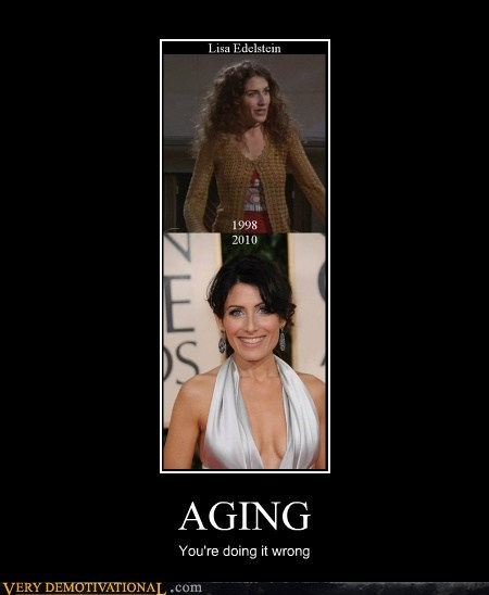 AGING You're doing it wrong