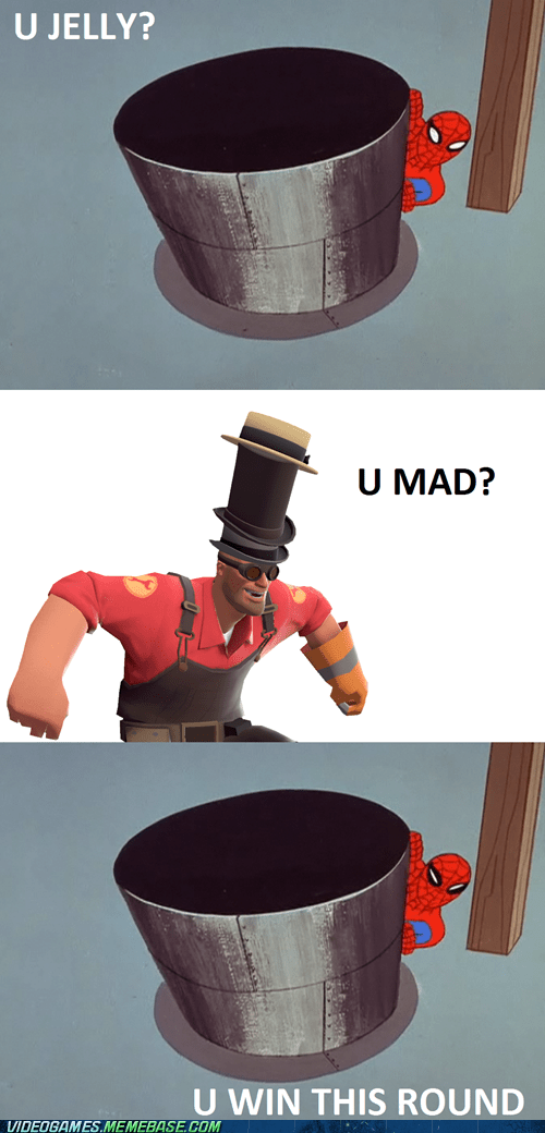 comic,hats,Spider-Man,team fortress 3,valve