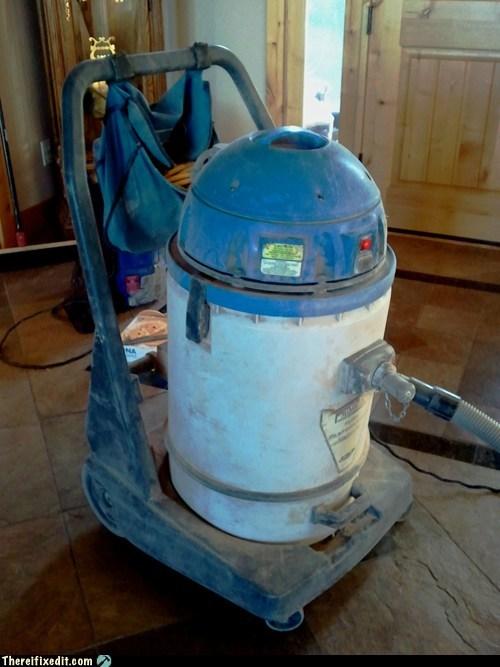 r2d2 shopvac these are not the droids vacuum