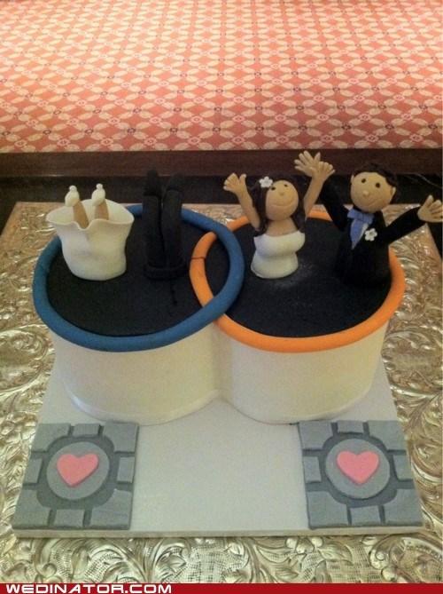 funny wedding photos Portal video games - 6273242112