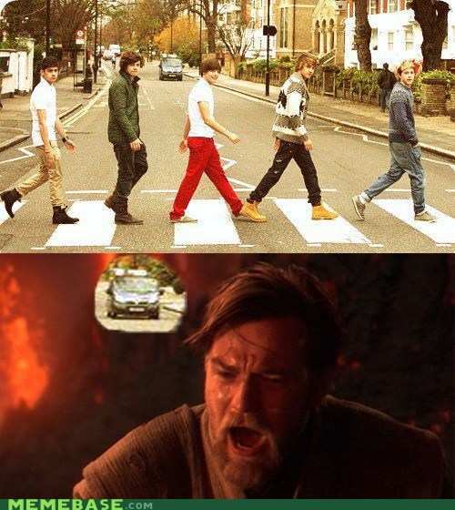 beatles car drive Memes one direction Sad star wars - 6273250816
