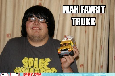 derp Ermahgerd keep on trucking toy - 6273423872