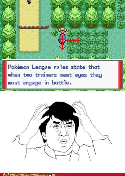 Battle gameplay my brain is full of Pokémon pokemon league rules - 6273474816