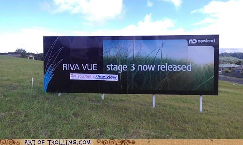did you mean IRL river view sign - 6274016768