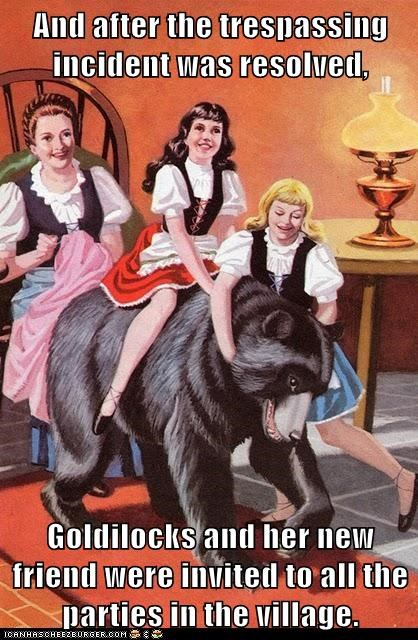bear drawing girls goldilocks painting popular - 6274479360