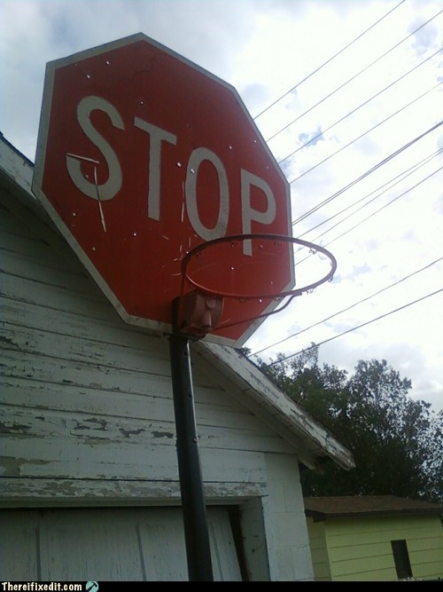 basketball basketball hoop bball hoop stop stop sign - 6274529792