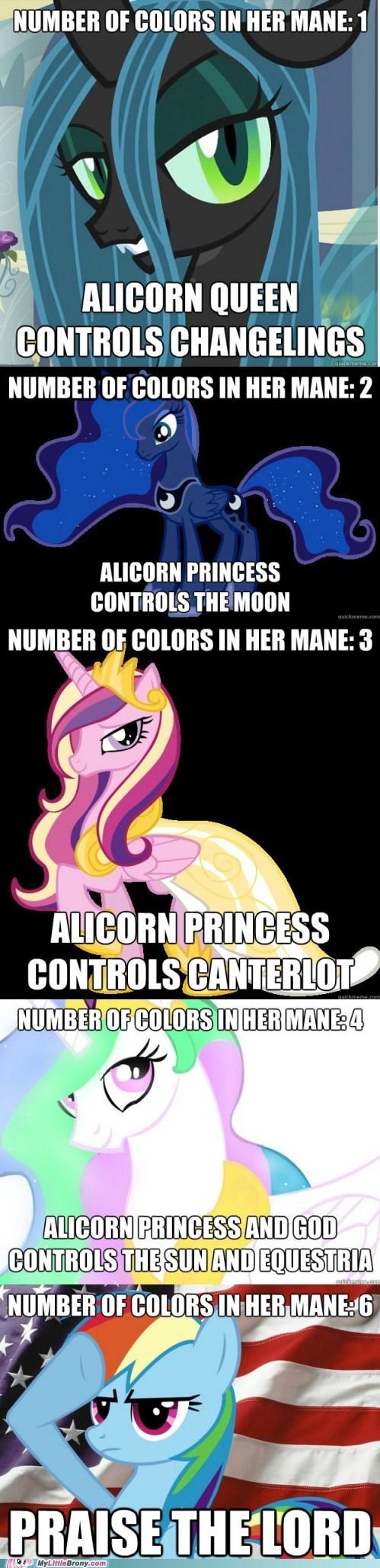 alicorns,colors in mane,comics,manestream,rainbow dash