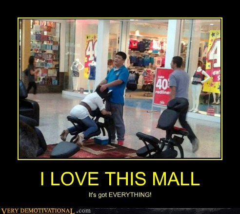 hilarious mall massage wtf - 6275490048