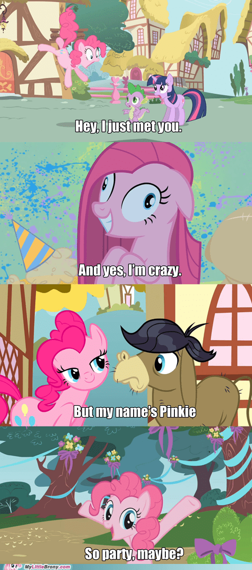 best of week call me maybe friends meme Party pinkie pie - 6275531776